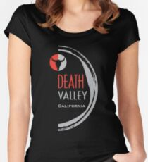 death valley  Women's Fitted Scoop T-Shirt