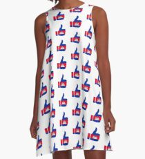 Flag Thumb of Cambodia A-Line Dress
