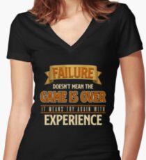 Entrepreneur Entrepreneurship  Founder Boss Gift Women's Fitted V-Neck T-Shirt