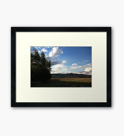 Wallan - Country Melbourne Framed Print