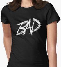 XXXTENTACION BAD Women's Fitted T-Shirt
