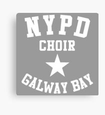 NYPD CHOIR GALWAY BAY Canvas Print