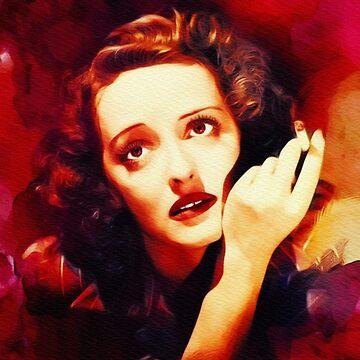 Bette Davis, Vintage Hollywood Legend by SerpentFilms