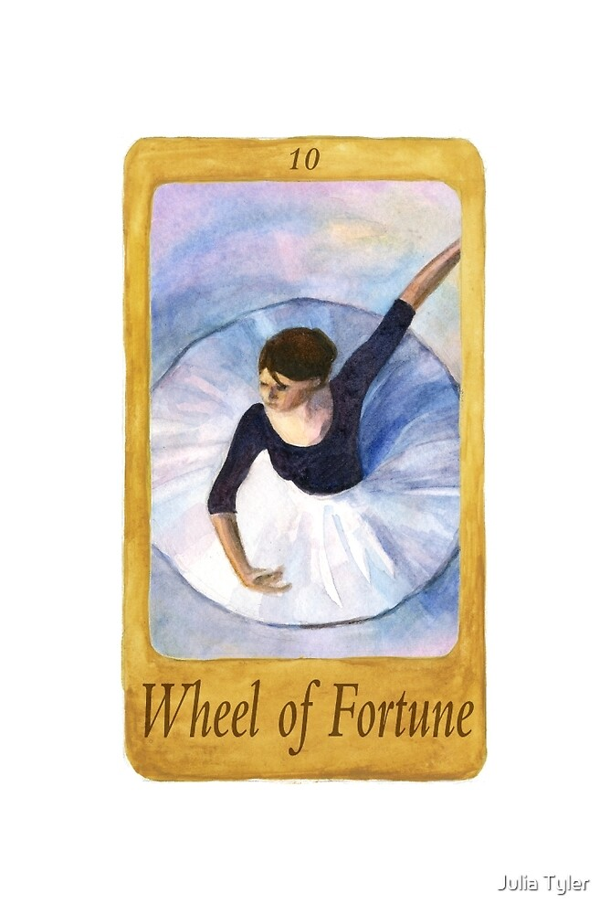 Ballet Tarot Cards: Wheel of Fortune by Julia Tyler