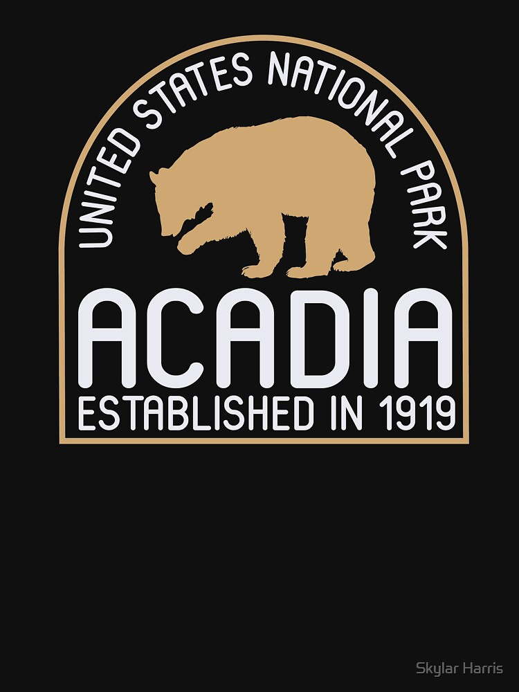 Acadia National Park Vintage Souvenir by fuller-factory