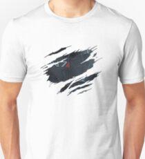 Camiseta ajustada Armadura de comandante desgarrada por la guerra N7