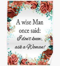 Ein weiser Mann Poster