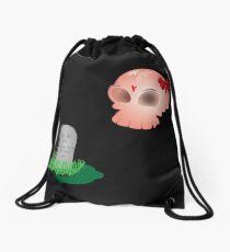 Love after death Drawstring Bag