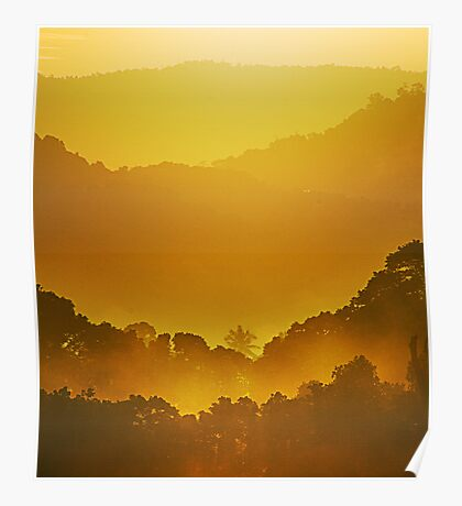 Glory Morning Poster