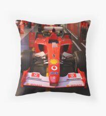 Set.. Ready.. Go! Formula 1 Ferrari Cars. Wroooooom.... Throw Pillow