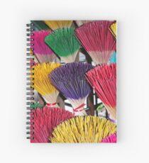 Inscence Sticks Spiral Notebook