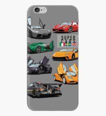 Vinilo o funda para iPhone Colección Supercars