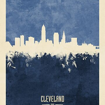 Cleveland Ohio Skyline by ArtPrints