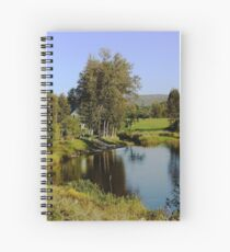 On The Matapedia Spiral Notebook