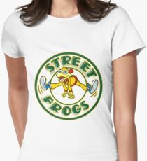 Street Frogs Women's Fitted T-Shirt