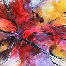 nature 0412 abstract watercolor by Alessandro Andreuccetti