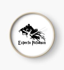 Expecto Patronum Dementor and Patronus Clock