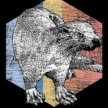 Otter animals by GeschenkIdee