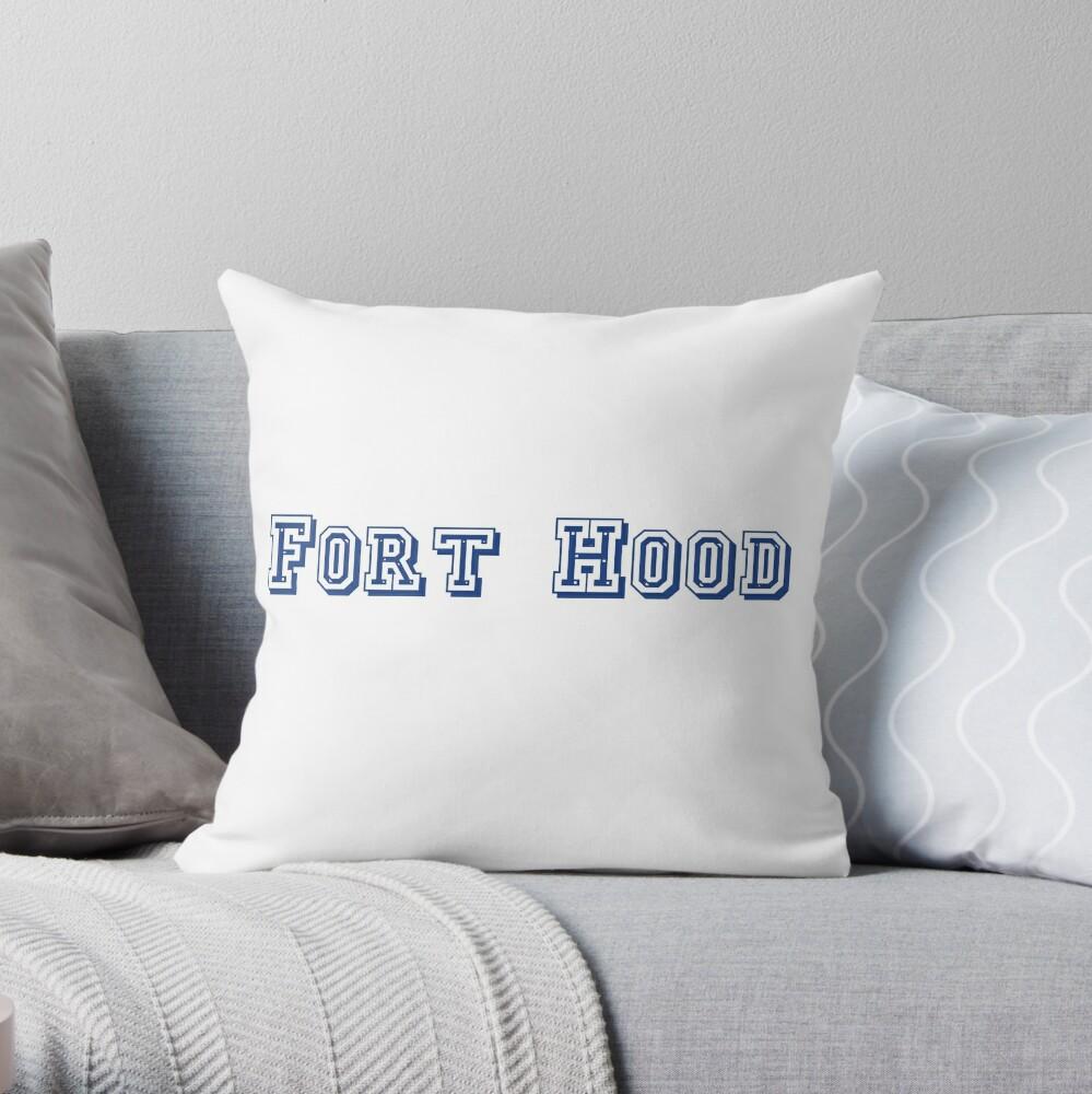 Fort Hood Throw Pillow