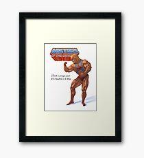 Mister Heman Framed Print
