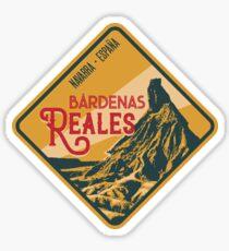 Bardenas Reales Desert 04 - Navarre Spain, T-Shirt + Sticker Sticker