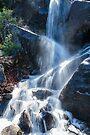 Upper Yosemite Roadside Waterfall Summer 2017 by photosbyflood