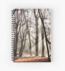 Mist Clearing at Bower Heath Spiral Notebook
