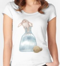 Thing Escaping A Jar Women's Fitted Scoop T-Shirt