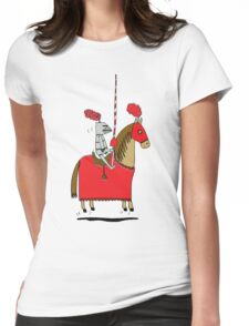 Jumpy Knight Womens Fitted T-Shirt