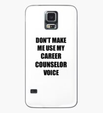 Career Counselor Gift for Coworkers Funny Present Idea Hülle & Klebefolie für Samsung Galaxy
