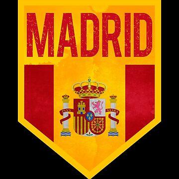 Spain Madrid T-shirt by IchliebeT-Shirt