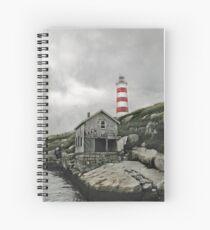 Abandoned - The Sambro Island Lighthouse Spiral Notebook