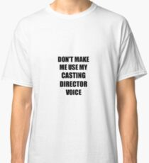 Casting Director Gift for Coworkers Funny Present Idea Classic T-Shirt