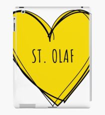 ST. OLAF HEART iPad Case/Skin