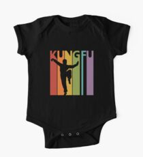 Kung Fu Baby Body Kurzarm