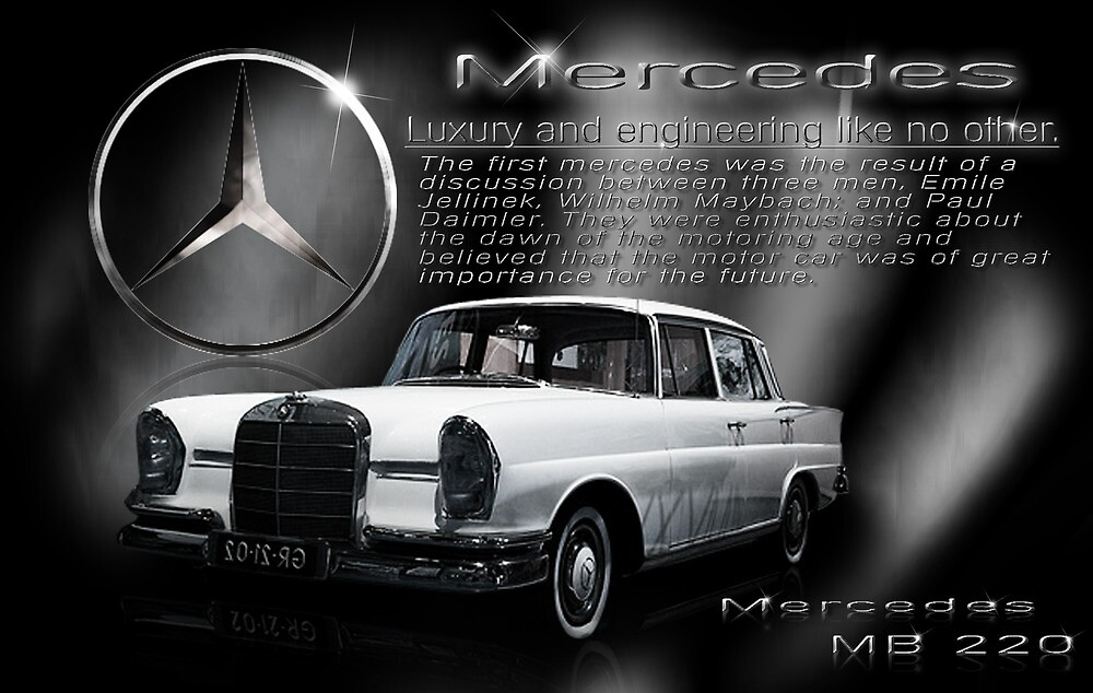 Quot Mercedes Poster Quot By Supersprayer Redbubble