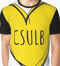 CSULB HEART Graphic T-Shirt