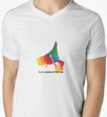 bunq flag Men's V-Neck T-Shirt