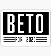 Beto For 2020 Sticker