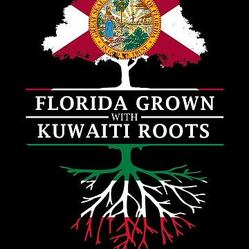 Florida Grown with Kuwaiti Roots Design by ockshirts
