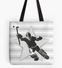 Field Hockey Goalie Tote Bag
