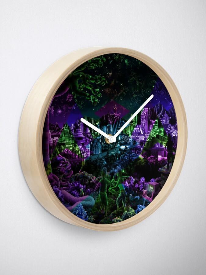 Alternate view of FutuRetro Dreams Clock