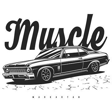 Muscle Nova SS by OlegMarkaryan