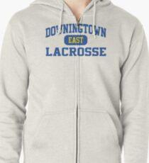 Downingtown East Lacrosse Zipped Hoodie