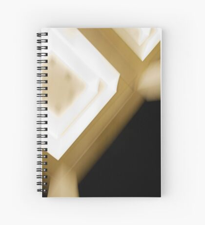 the artificial light Spiral Notebook