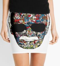 Stan Lee - Man of many faces Mini Skirt