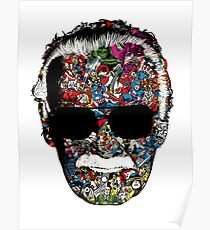 Stan Lee - Man of many faces Poster