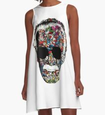 Stan Lee - Man of many faces A-Line Dress