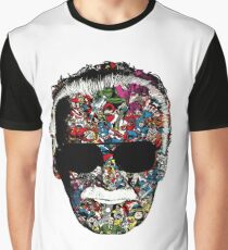 Stan Lee - Man of many faces Graphic T-Shirt