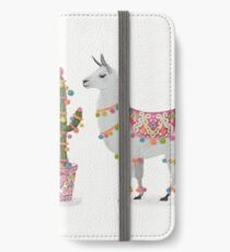 llamas iPhone Wallet/Case/Skin